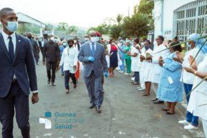 Visita del Ministro a Bioko sur
