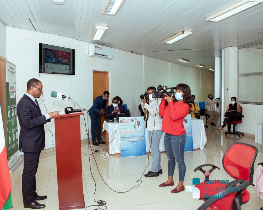 Press Conference COVID19 Equatorial Guinea